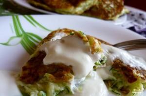 Сырные оладьи - пошаговый рецепт с фото на Повар.ру
