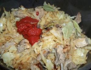 Капуста со свининой - пошаговый рецепт с фото на Повар.ру