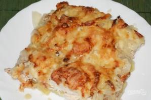 土豆用法语在烤箱里 - 照片步骤7
