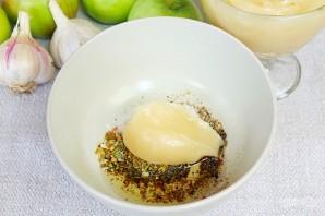 Утка в рукаве с яблоками, чесноком и медом - фото шаг 3