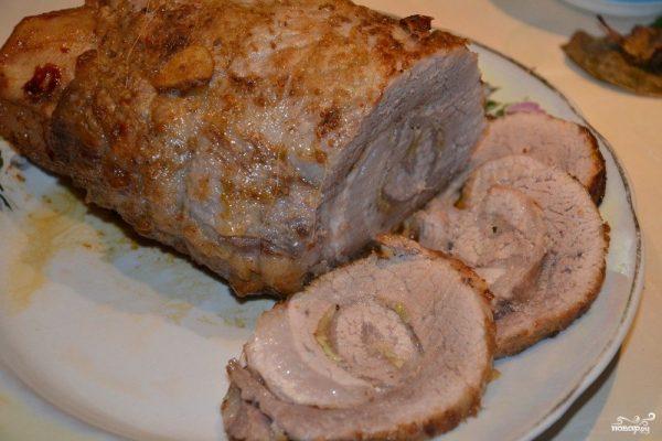 Рулет из свинины вареный - пошаговый рецепт с фото на Повар.ру