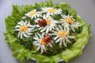 Салат с рыбой и рисом - пошаговый рецепт с фото на Повар.ру