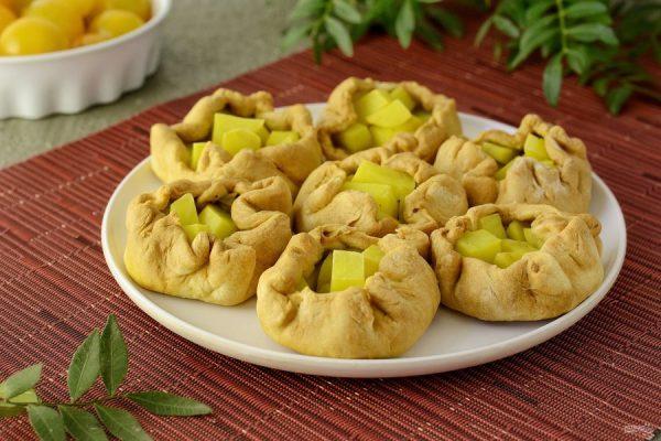 Пирожки с картошкой по-татарски - пошаговый рецепт с фото ...