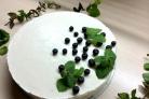 Сүзбеден және желатиннен жасалған тортты пісірусіз