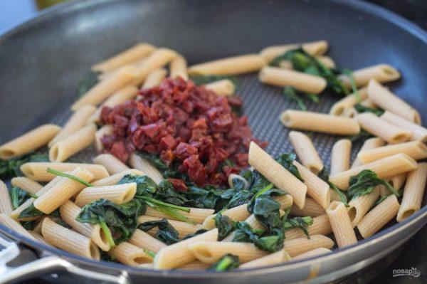 Паста с лососем и шпинатом - пошаговый рецепт с фото на ...