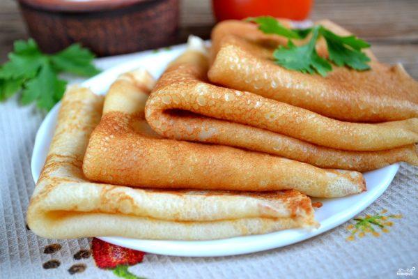 Блины на сыворотке - пошаговый рецепт с фото на Повар.ру