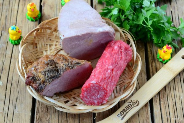 Мясная нарезка на Пасху - пошаговый рецепт с фото на Повар.ру
