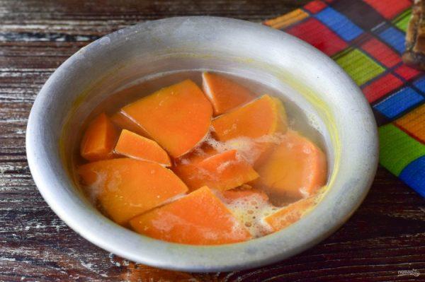 Тыква вареная с медом - пошаговый рецепт с фото на Повар.ру