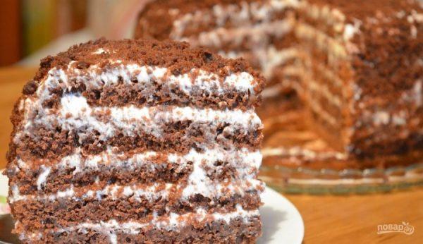 Простой и вкусный торт - пошаговый рецепт с фото на Повар.ру