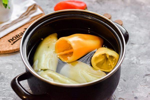 Перец фаршированный рисом на зиму - пошаговый рецепт с ...