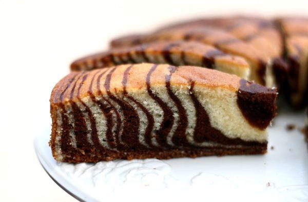 "Торт ""Зебра"" на кефире - пошаговый рецепт с фото на Повар.ру"