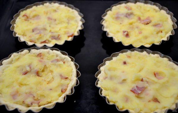 Тарталетки с лисичками - пошаговый рецепт с фото на Повар.ру