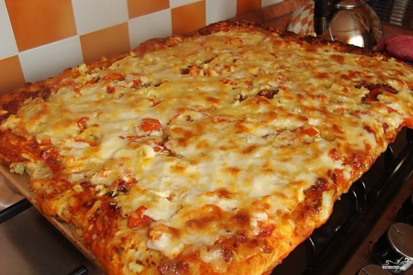 Быстрая пицца - пошаговый рецепт с фото на Повар.ру