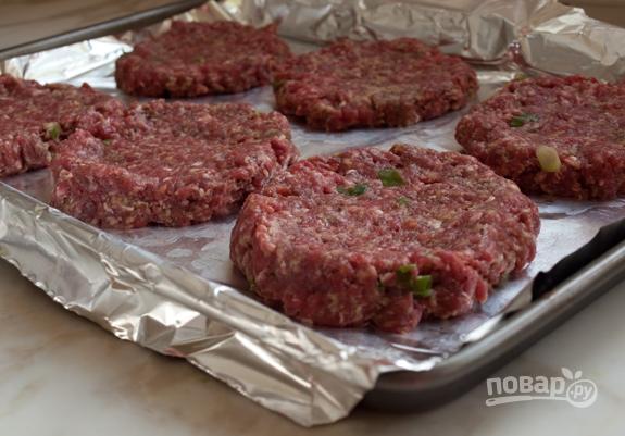 Котлеты для гамбургера - пошаговый рецепт с фото на Повар.ру