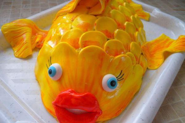 "Торт ""Рыба"" - пошаговый рецепт с фото на Повар.ру"
