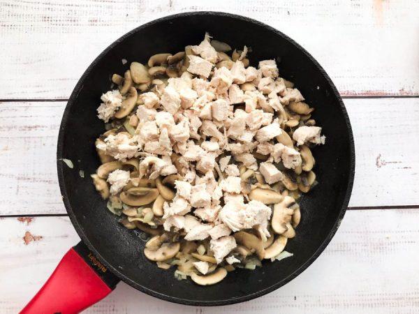 Жульен с грибами без муки - пошаговый рецепт с фото на ...