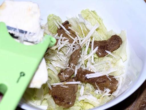 Салат с жареной говядиной - пошаговый рецепт с фото на ...