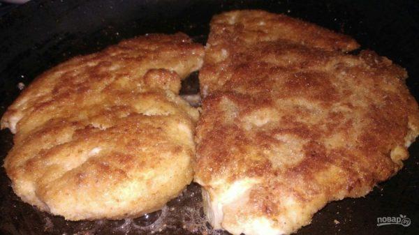 Отбивная из куриного филе - пошаговый рецепт с фото на ...