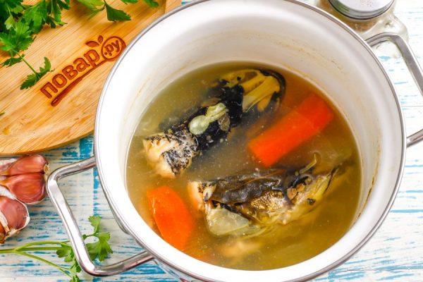 Заливное из головы щуки - пошаговый рецепт с фото на Повар.ру