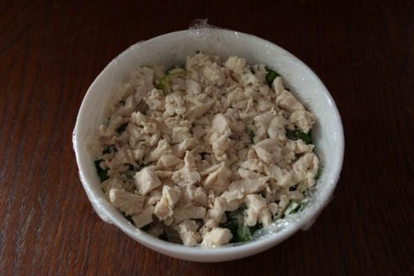 """Салат """"Грибная полянка"""" с курицей - пошаговый рецепт с ..."""