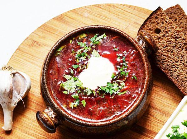 Борщ с томатной пастой - пошаговый рецепт с фото на Повар.ру