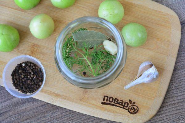 Зеленые помидоры с горчицей на зиму - пошаговый рецепт с ...