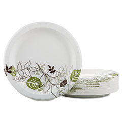 Pathways® paper plates have a strong multilayer design with Soak-Proof Shield®.