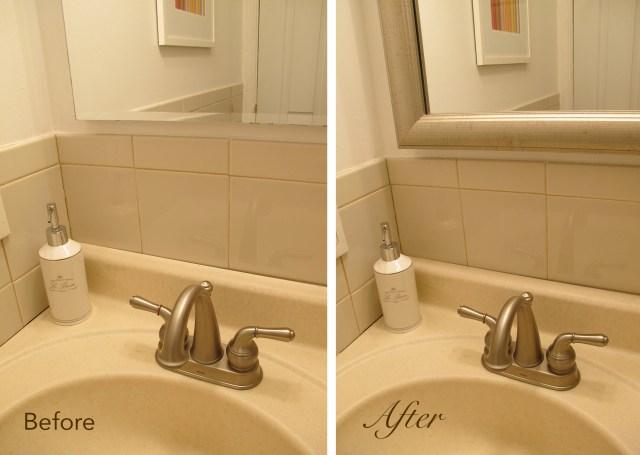 Desilvering Bathroom Mirror Fix It with MirrorMate Frames PR