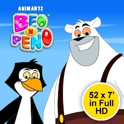 ANIMANTZ's Beo n' Peno Signs Its Investors, Rotomaker and iLO Entertainment