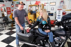 New Console Vault® Motorcycle Safe; US Patent Pending