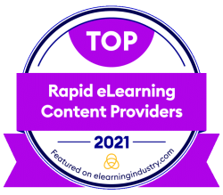 CommLab India Tops the List of Top Rapid eLearning Providers for 2021
