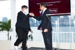 Alberto Carvalho Hails Student and Honorees at Be Strong International's Spring Charity Event 2021