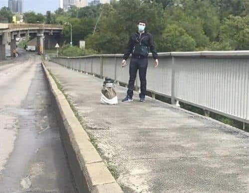 Мінера моста Метро в Києві поліція вже затримала: була стрілянина