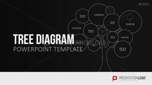 Tree Diagram PowerPoint Template