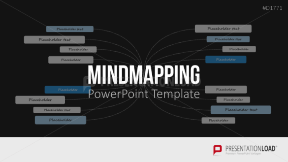 Mind Maps PowerPoint Template MindMapping  Mind maps