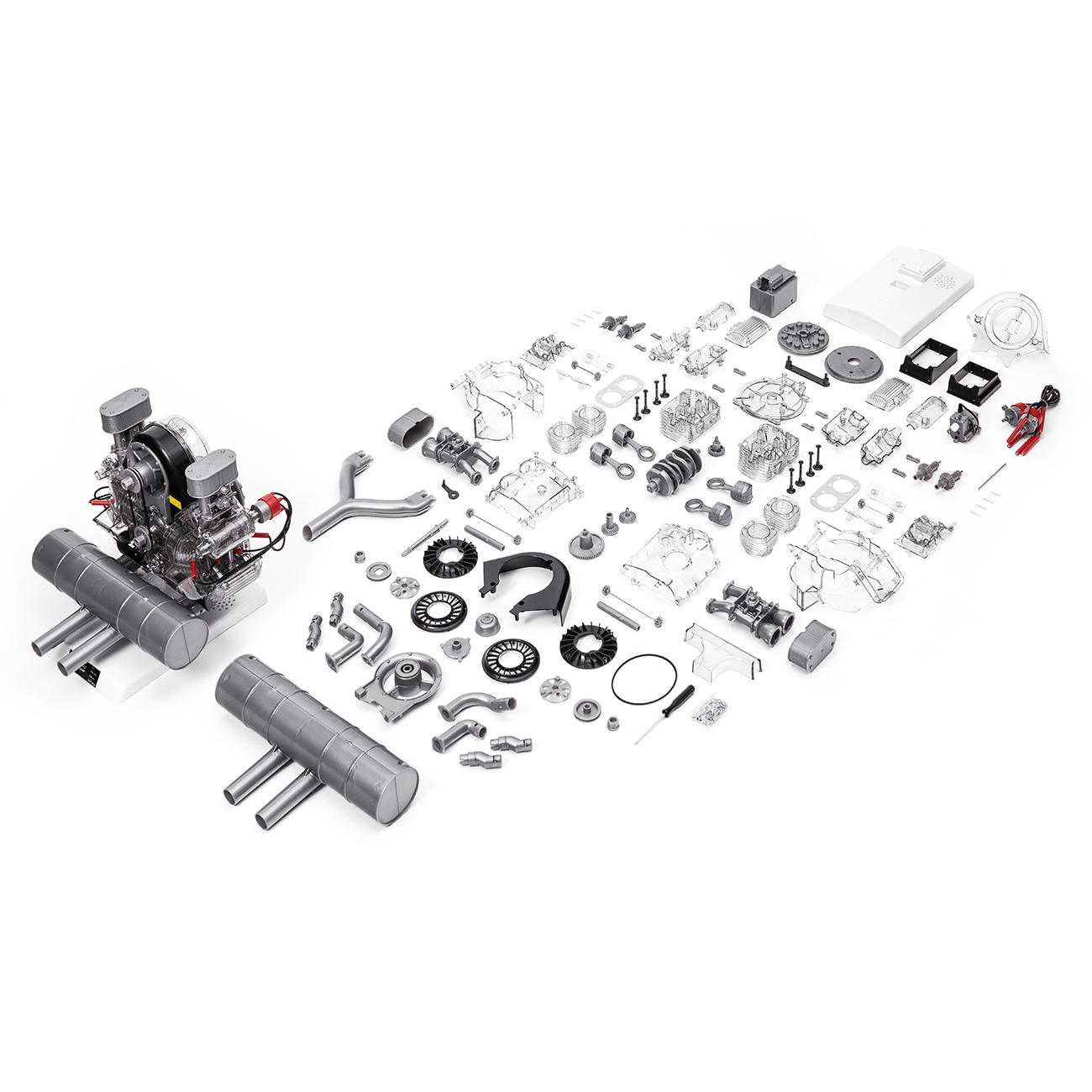 Porsche 4 Cylinder Boxer Engine 547 Construction Kit