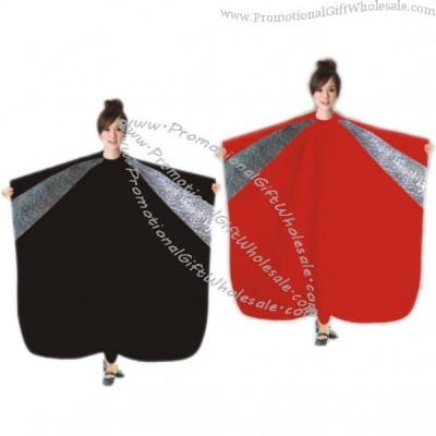 polyester waterproof stylist hair salon cape cut cloth made in china