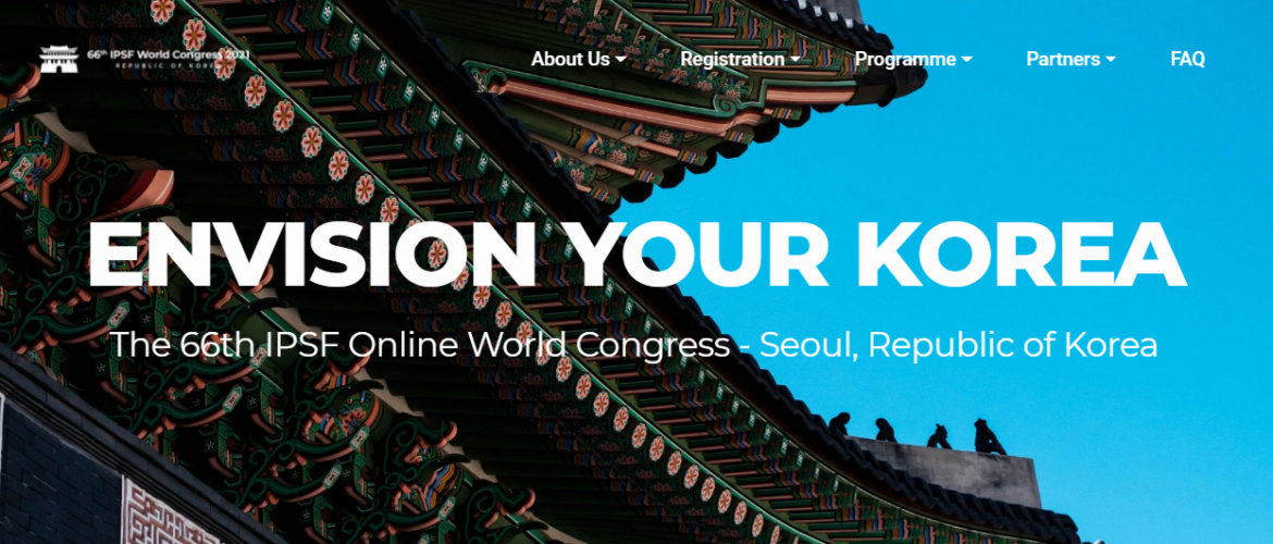 【2021 IPSF Online World Congress】