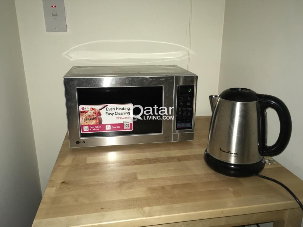 microwave ikea table qatar living