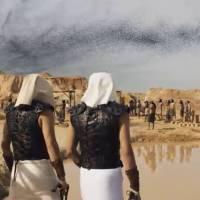 Ramsés e Nefertari ficam impressionados com um grandioso enxame de moscas