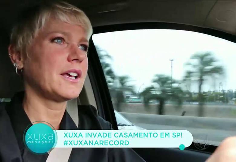 Xuxa foi até Atibaia, interior de São Paulo, para fazer a 'invasão' no casório> Acesse o R7 Play e assista na íntegra a todos os programas da Record! Clique e experimente!
