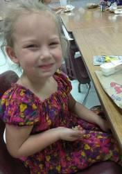 A pequena Brooke Garza, de apenas seis anos de idade, foi outra das vítimas fatais identificadas