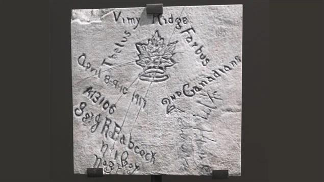 Des noms gravés dans la pierre
