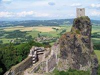 El castillo de Trosky, foto: ŠJů, CC BY-SA 3.0 Unported