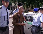 Antonín Novák in custody, photo: CTK