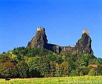El castillo de Trosky, foto: CzechTourism