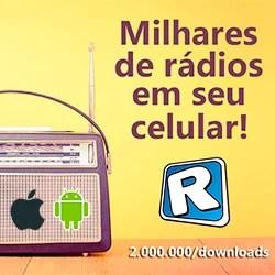 Milhares de rádios em seu celular ou tablet com Android ou iPhone e iPad