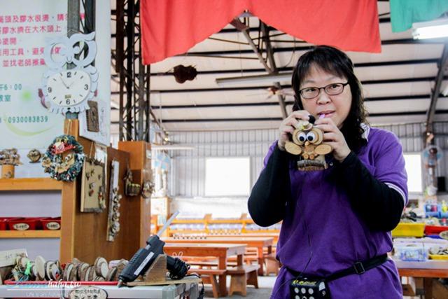 木製手作體驗-南投日月潭-必玩景點-亮點茶莊-吉臣紅茶-貓頭鷹之家