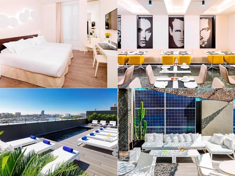 H10Port-hotel,西班牙, 巴塞隆納, 自由行, 歐洲自由行, 西班牙住宿推薦, 格拉西亞大道, 高第建築