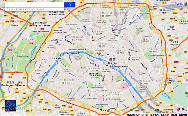 Paris_google_map